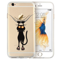 Funda para móvil gato